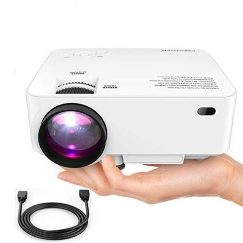 DBPOWER Upgraded Mini Projector