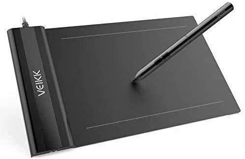 VEIKK S640 V2 Graphics Drawing Tablet - Pen Tablets for Online Classroom