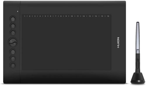 Huion H610 Pro V2 Graphic Drawing Tablet