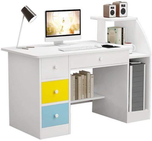 Computer Desk Home Office Desks with Shelf