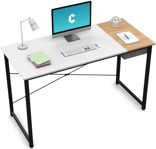 "Cubiker Computer Desk 55""- Modern Computer Desks"