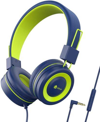 iClever Kids Headphones - Microphones for Online Classroom