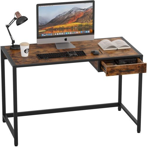 IRONCK Desk Computer Table with Drawer 47""