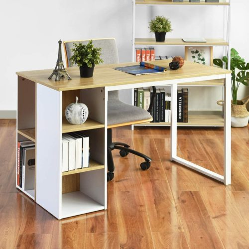 Office Computer Desk with Storage - Contemporary Computer Desks