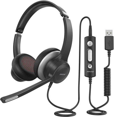 Mpow HC6 USB Headset with Microphone