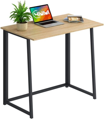 4NM Folding Desk, Small Computer Desk Home Office