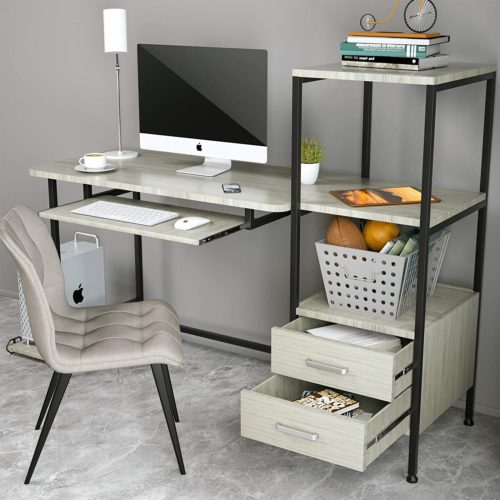 Mecor Computer Desk Study Writing Table for Home Office- Modern Computer Desks