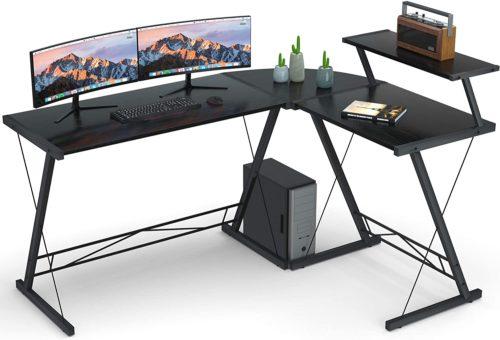 Reversible L Shaped Desk Home Office Desk- Modern Computer Desks