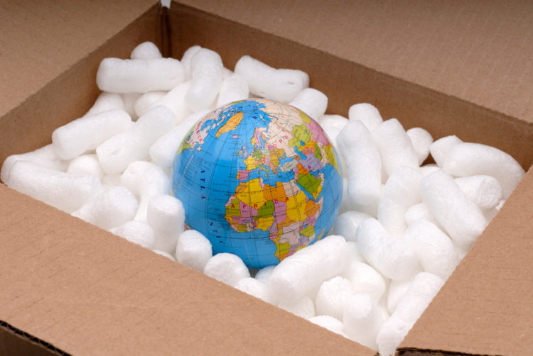 Biodegradable Packing Peanuts - Recyclable Product Packaging