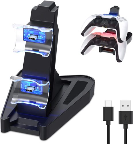 Dual Charge PS5 Controller Charger - PS5 accessories