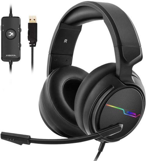 Jeecoo Xiberia USB Pro Gaming Headset for PC