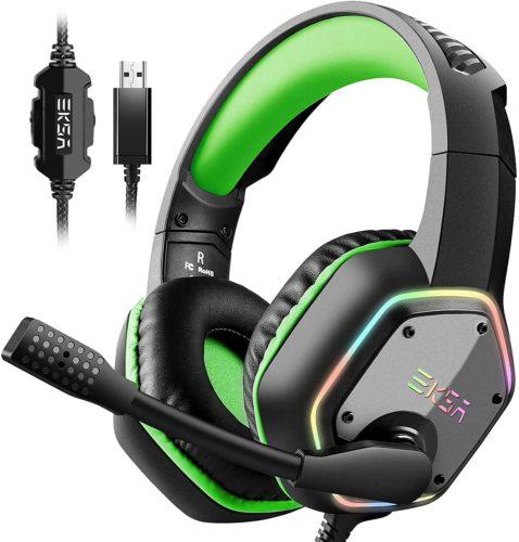EKSA USB Gaming Headset for PC