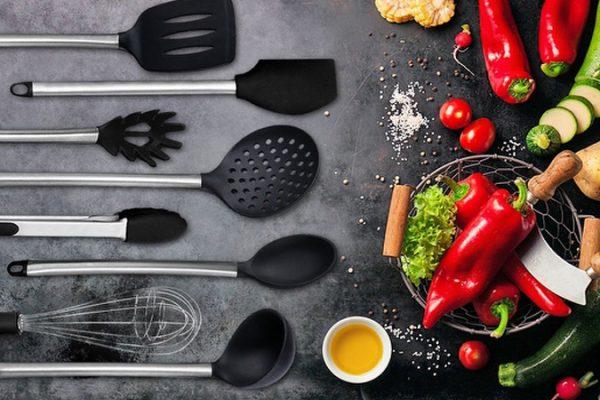 Stainless Kitchen Cooking Utensil Set